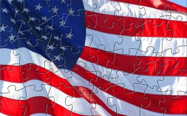 Click to view CSIA U.S. Flag Puzzle 1.0 screenshot